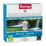 Descafeinado Monodosis Bio (16 monodosis) 6,5gr. Café Malongo. 10 Unidades