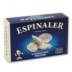 Almejas al natural OL-120 (15-20 piezas). Espinaler. 25un.