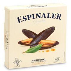 Mejillones en escabeche OL-120 (4/6 piezas). Espinaler. 25un.
