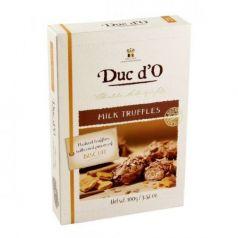 Trufas de chocolate con leche y galleta 100gr. Duc d\'O. 8 Unidades