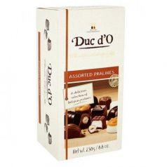 Surtido de pralinés (caja baúl) 250gr. Duc d\'O. 8 Unidades