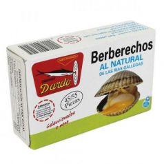 Berberechos al natural de Rias Gallegas OL-120, 45/55u. Dardo. 25 Unidades