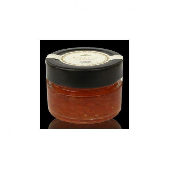 Caviar de Salmón salvaje de Alaska 50gr. Riofrío. 6 Unidades