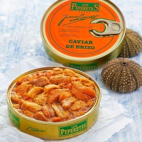Caviar de Erizo 120gr. Los Peperetes. 12 Unidades