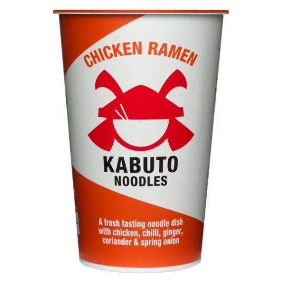 Chicken Ramen 85gr. Kabuto Noodles. 6 Unidades