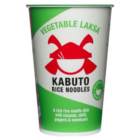 Vegetable Laksa 65gr. Kabuto Noodles. 6 Unidades