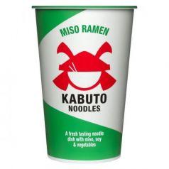 Miso Ramen 85gr. Kabuto Noodles. 6 Unidades