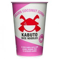 Coco al Curry de Gamba 65gr. Kabuto Noodles. 6 Unidades