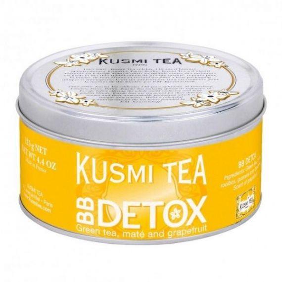 BB Detox 125gr. Kusmi Tea. 6 Unidades