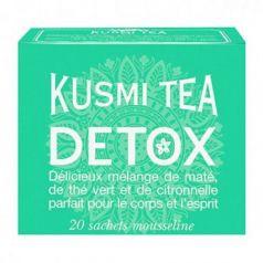 Detox Tea 20 Muslins. Kusmi Tea. 12 Unidades