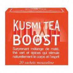 Boost 20 Muslins. Kusmi Tea. 12un.