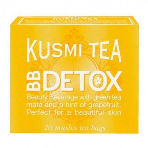 BB Detox 20 Muslins. Kusmi Tea. 12 Unidades
