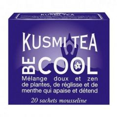 Be Cool 20 Muslins. Kusmi Tea. 12un.
