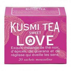 Sweet Love 20 Muslins. Kusmi Tea. 12 Unidades