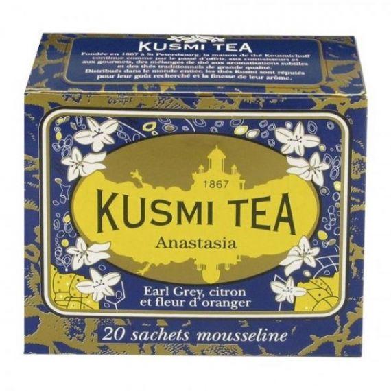 Anastasia 20 Muslins. Kusmi Tea. 12 Unidades