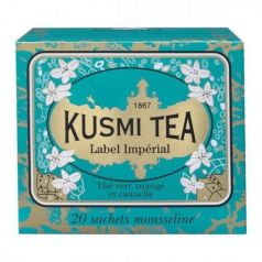 Imperial Label 20 Muslins. Kusmi Tea. 12un.