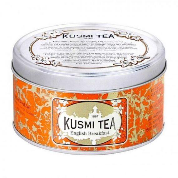 English Breakfast 125gr. Kusmi Tea. 6 Unidades