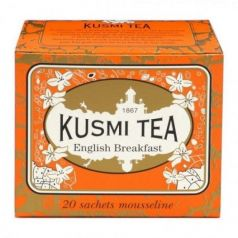 English Breakfast 20 Muslins. Kusmi Tea. 12un.
