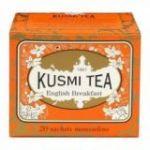 English Breakfast 20 Muslins. Kusmi Tea. 12 Unidades