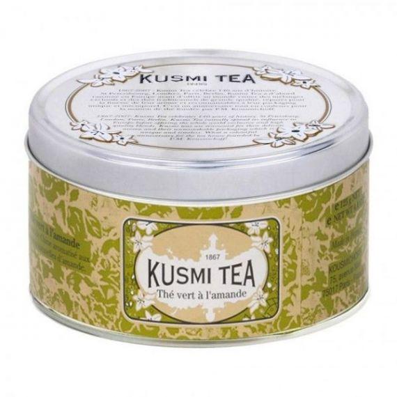 Almond green tea 125gr. Kusmi Tea. 6 Unidades
