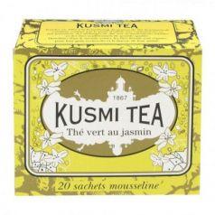 Jasmine green tea 20 Muslins. Kusmi Tea. 12 Unidades