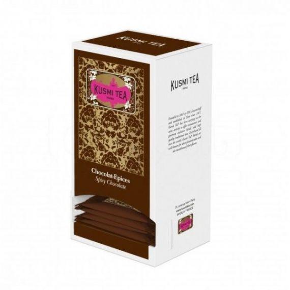 Spicy Chocolate 25 Muslins. Kusmi Tea. 1 Unidades