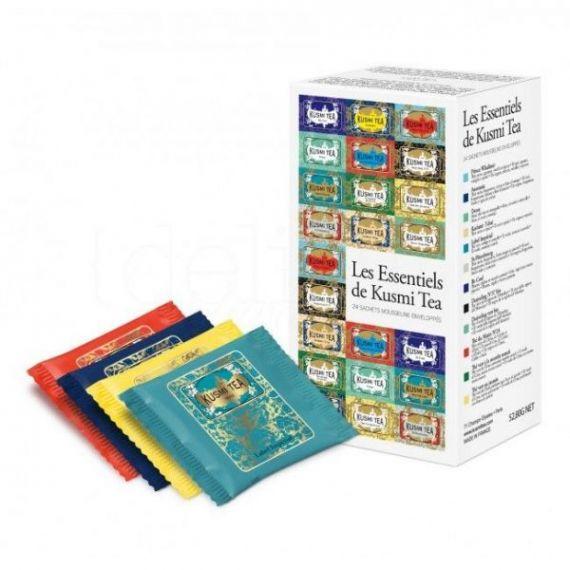 Kusmi Tea Essentials (Surtido 24 Muslins). Kusmi Tea. 10 Unidades