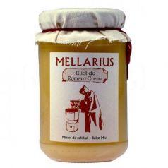 Crema de miel de Romero 500gr. Mellarius. 12 Unidades