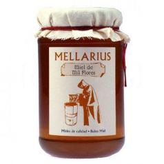 Miel de Mil Flores 500gr. Mellarius. 12 Unidades