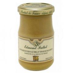 Mostaza de Dijon con miel y vinagre balsámico 205gr. Edmond Fallot. 12 Unidades