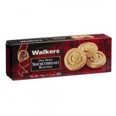Shortbreads Rounds de Mantequilla 150gr. Walkers. 12 Unidades