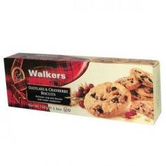 Biscuits con Avena y Trozos de Arándanos 150gr. Walkers. 12 Unidades