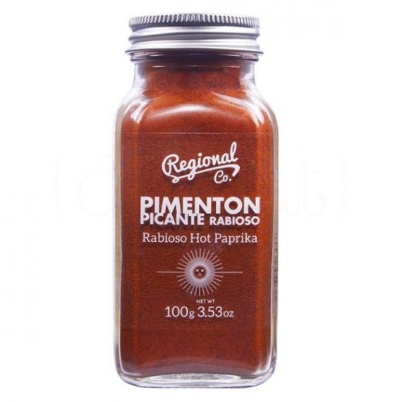 Pimentón picante 100gr. Regional Co. 6 Unidades