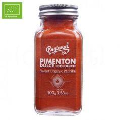 Pimentón dulce ecológico 100gr. Regional Co. 6 Unidades