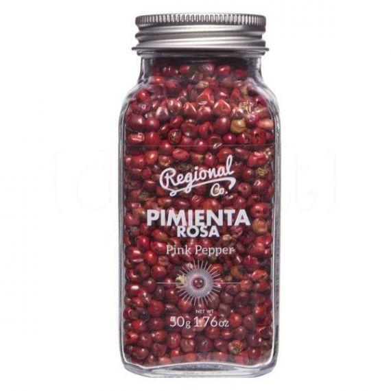 Pimienta rosa 50gr. Regional Co. 6un.