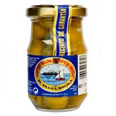 Aceituna rellena de filete de anchoa 140gr. Anxoves El Xillu. 8 Unidades