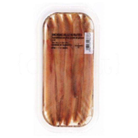 Filete de Anchoa (bandeja filetes grandes) 80gr. Anxoves El Xillu. 15 Unidades