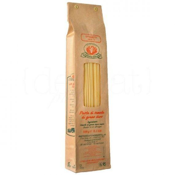 Spaghetti 500gr. Rustichella D\'abruzzo. 20 Unidades