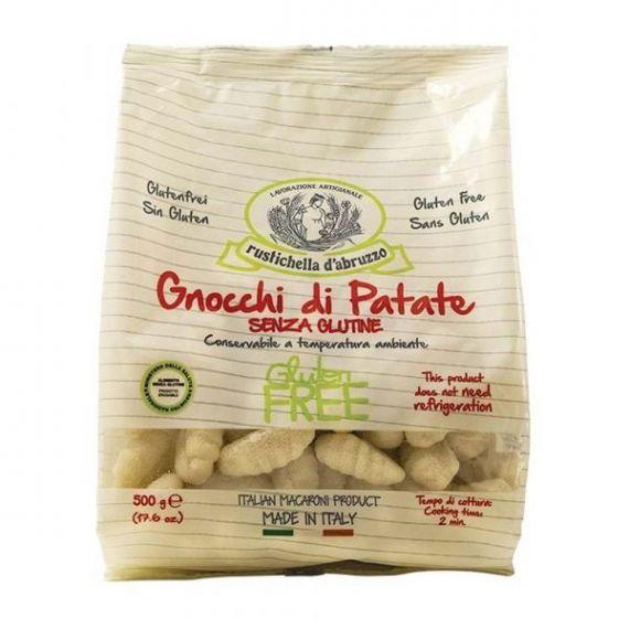 Gnocchi de Patatas Sin Gluten 500gr. Rustichella D\'abruzzo. 12 Unidades