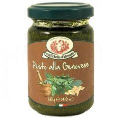 Pesto alla Genovese 130gr. Rustichella D\'abruzzo. 12 Unidades