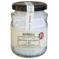 Escamas de sal Natural de Isla Cristina 150gr. Bernau Herbes de l\'Urgell. 12 Unidades