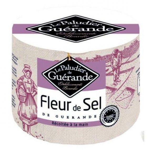 Flor de sal de Guérande 125gr. Le Paludier. 12 Unidades