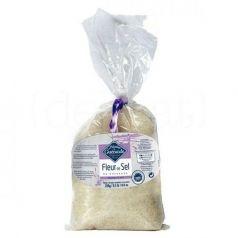 Flor de sal de Guérande (bolsa plástico) 250gr. Le Paludier. 12 Unidades