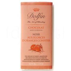 Chocolate Negro a la Naranja 70gr. Dolfin. 15 Unidades