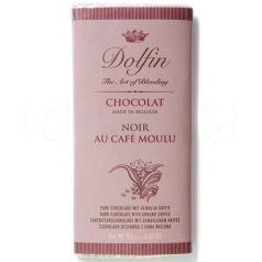 Chocolate Negro y Café molido 70gr. Dolfin. 15 Unidades
