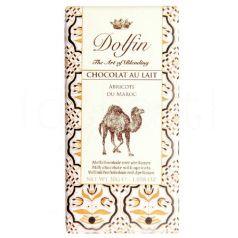 Chocolate con Leche y Albaricoques de Marruecos 30gr. Dolfin. 25 Unidades