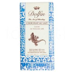 Chocolate con Leche 38% Cacao de Vanuatu 30gr. Dolfin. 25 Unidades