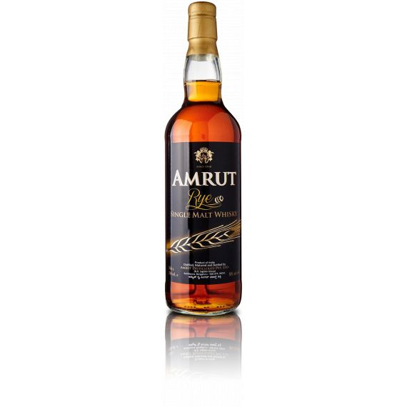 "AMRUT SINGLE MALT WHISKY ""RYE"" 70CL 50%"