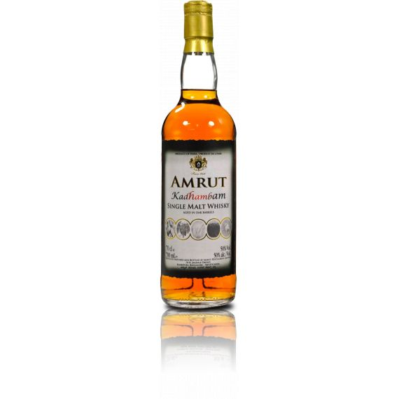 AMRUT SINGLE MALT WHISKY KADHAMBAM 70CL 50%