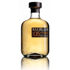BALBLAIR 2005 VINTAGE SINGLE MALT WHISKY 70CL 46%